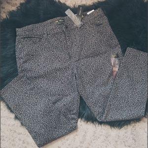 Lee  Gray Cheetah jeans